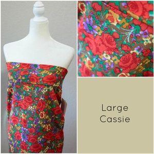 New! LuLaRoe Cassie Skirt size Large